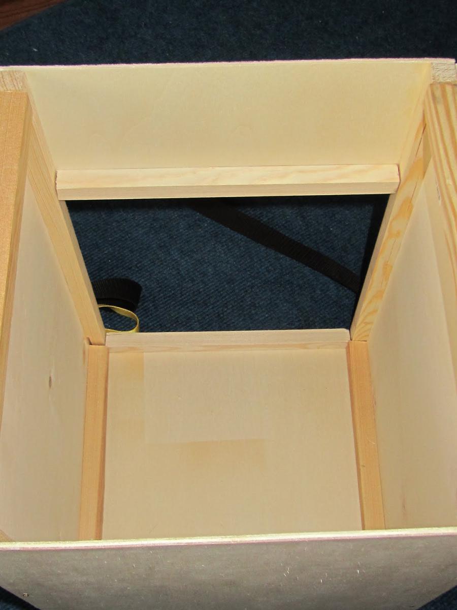 bauanleitung f r eine einfache schwarmkiste mellifera e v. Black Bedroom Furniture Sets. Home Design Ideas