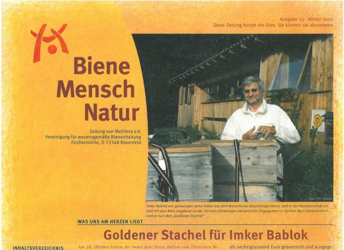 Cover BieneMenschNatur.13