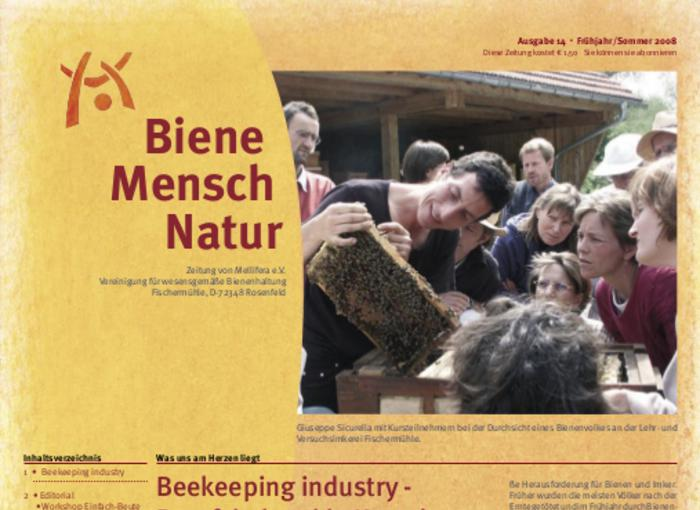 Cover BieneMenschNatur.14