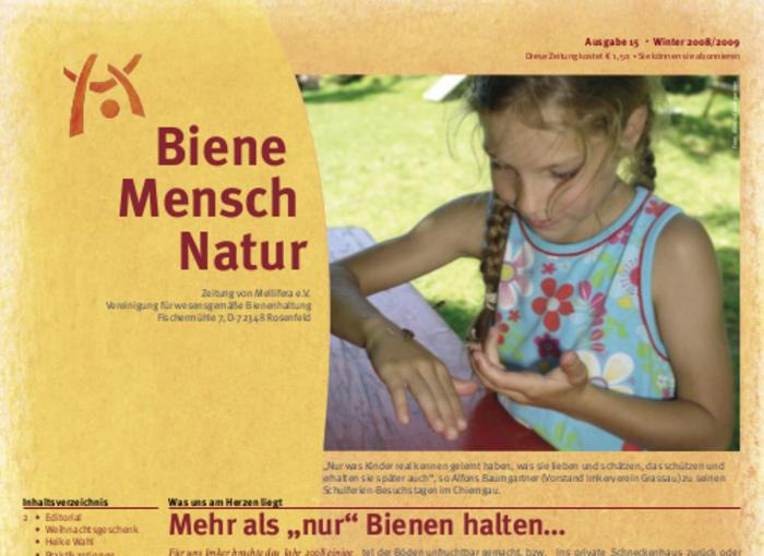 Cover BieneMenschNatur.15