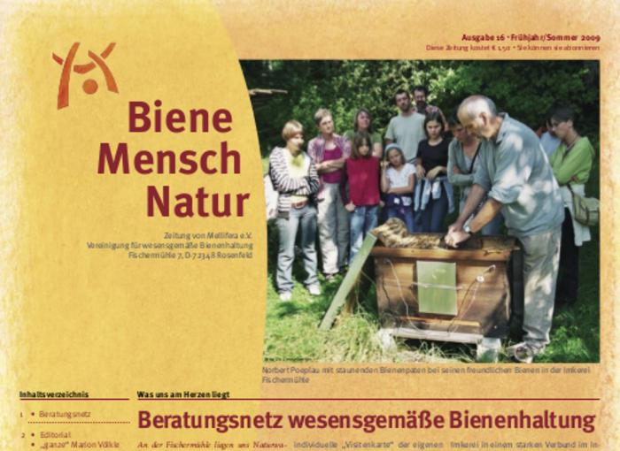 Cover BieneMenschNatur.16