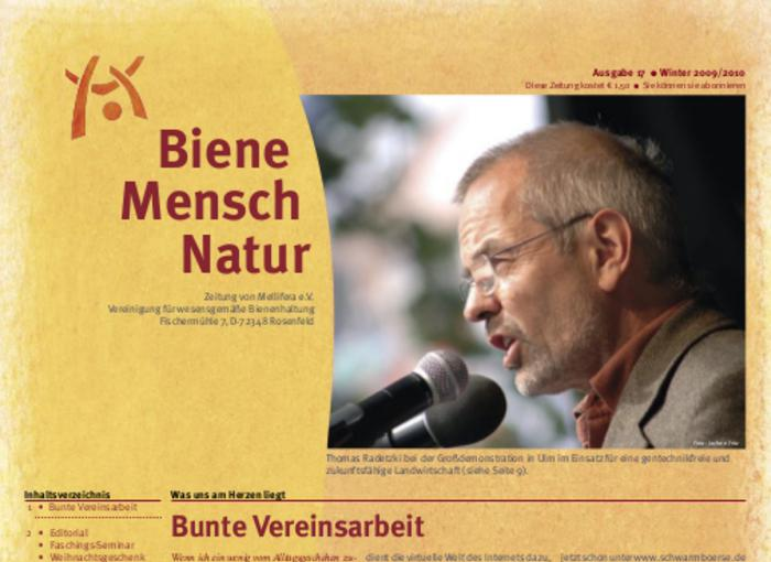 Cover BieneMenschNatur.17