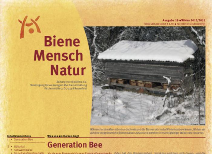 Cover BieneMenschNatur.19