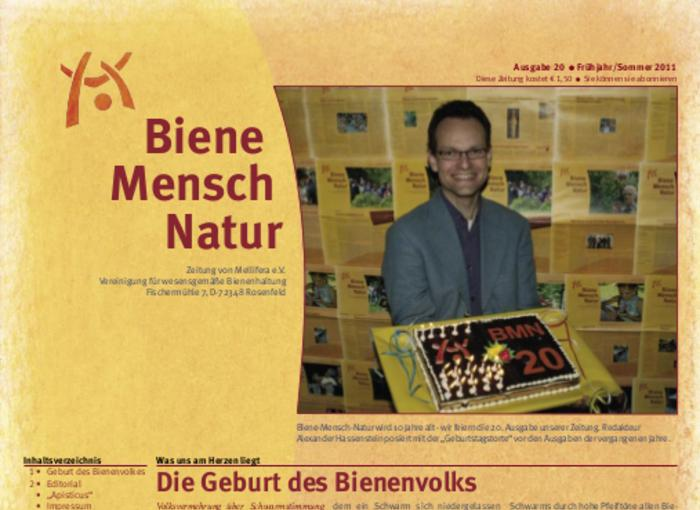Cover BieneMenschNatur.20