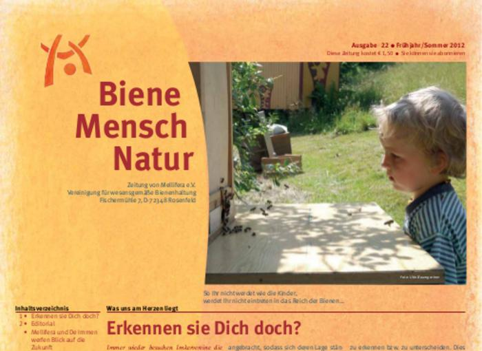 Cover BieneMenschNatur.22