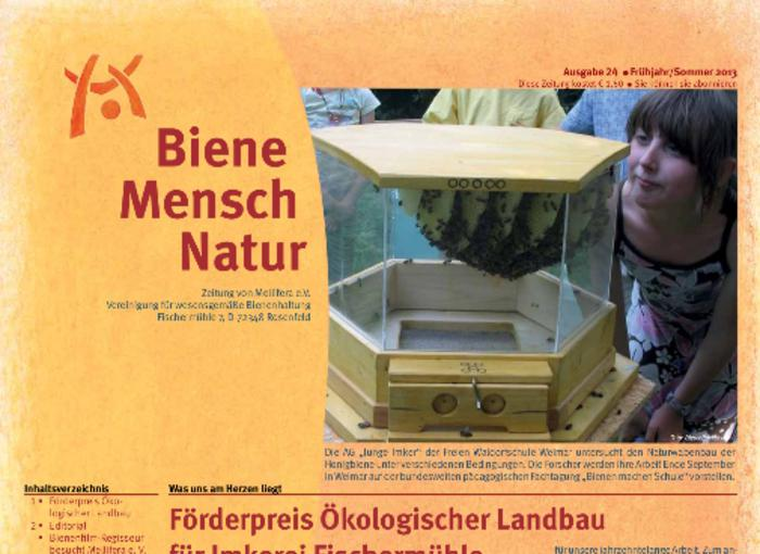 Cover BieneMenschNatur.24