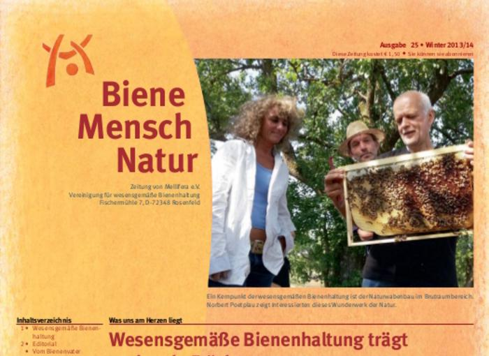 Cover BieneMenschNatur.25