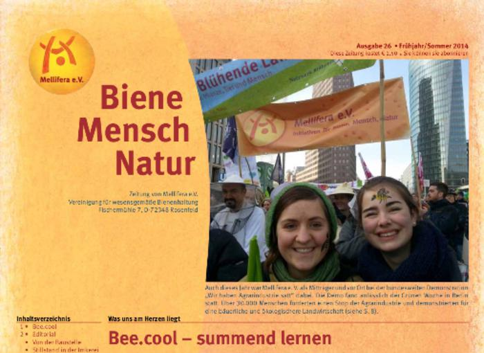 Cover BieneMenschNatur.26