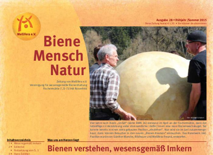 Cover BieneMenschNatur.28