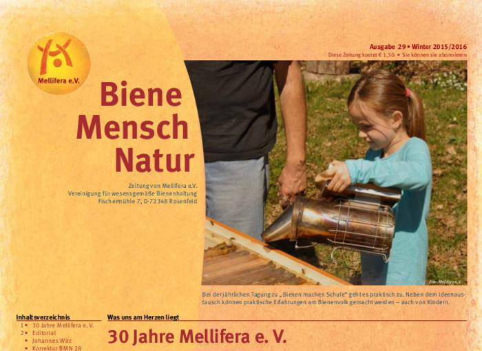 Cover BieneMenschNatur.29