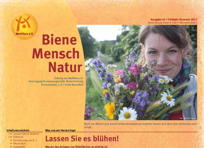 Cover BieneMenschNatur.32